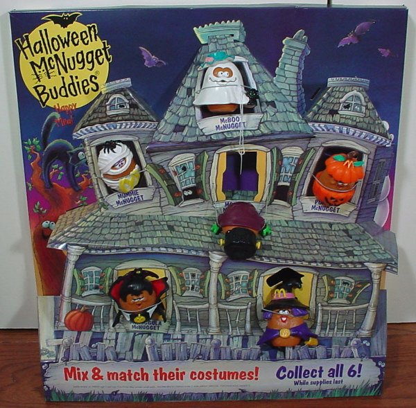 6: Two McDonald's Halloween McNugget Buddies Happy Meal