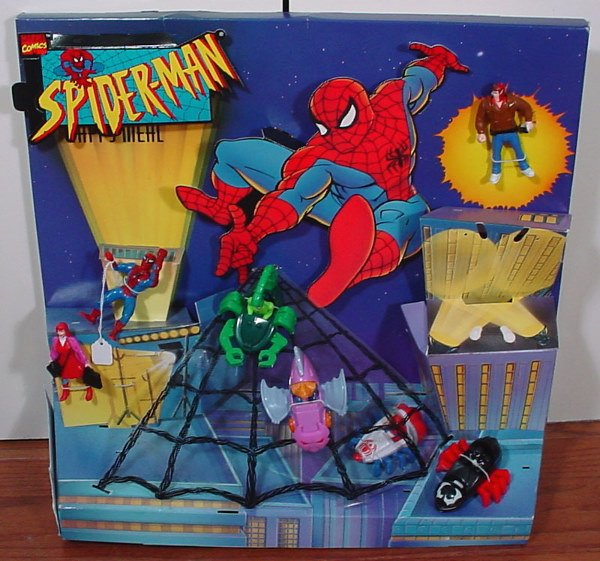 7: Two McDonald's Spider Man Happy Meal Collectibles St