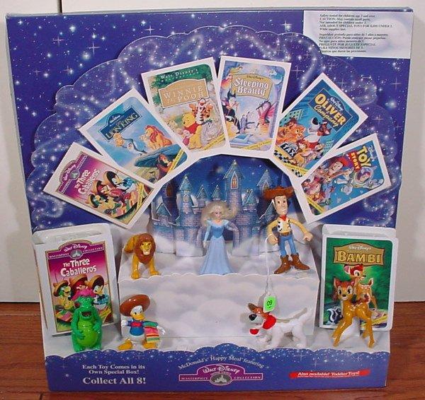 9: McDonald's Walt Disney Masterpiece Collection Happy