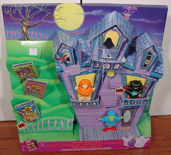 11: McDonald's Halloween Cassette Tapes or Character Fi