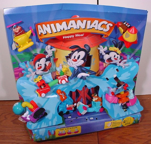 13: McDonald's AniManiacs Stretch Happy Meal Collectibl