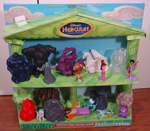 Toys For Hercules : Mcdonald s hercules happy meal collectibles store d
