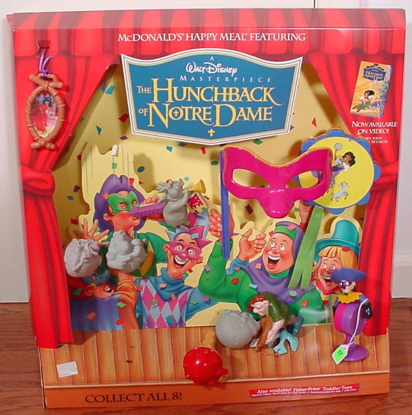 17: McDonald's Hunchback of Notre Dame Happy Meal Colle