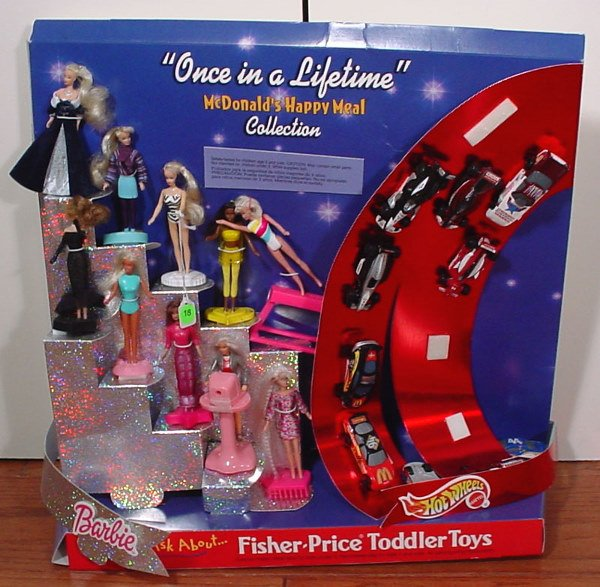 18: McDonald's Barbie and Hot Wheels Happy Meal Collect