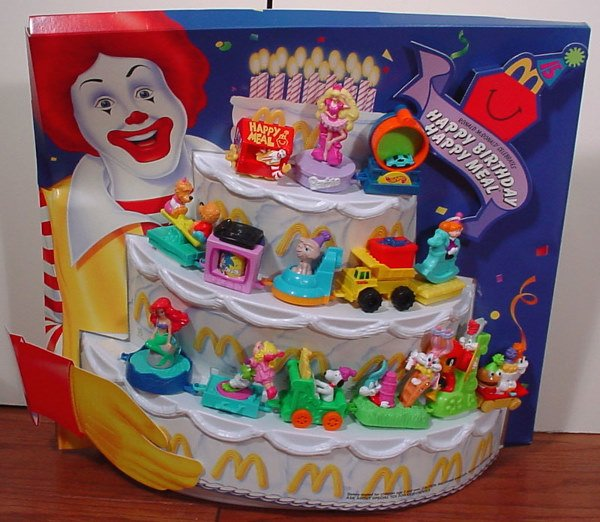 19: Two McDonald's 15th Anniversary of the Happy Meal C