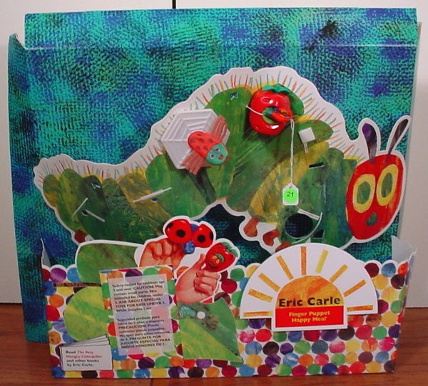 21: McDonald's Eric Carle Happy Meal Collectibles Store