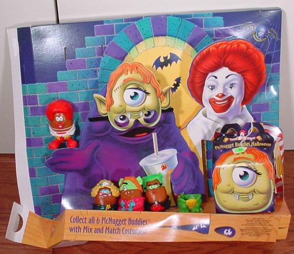 22: McDonald's McNugget Buddies Halloween Happy Meal Co