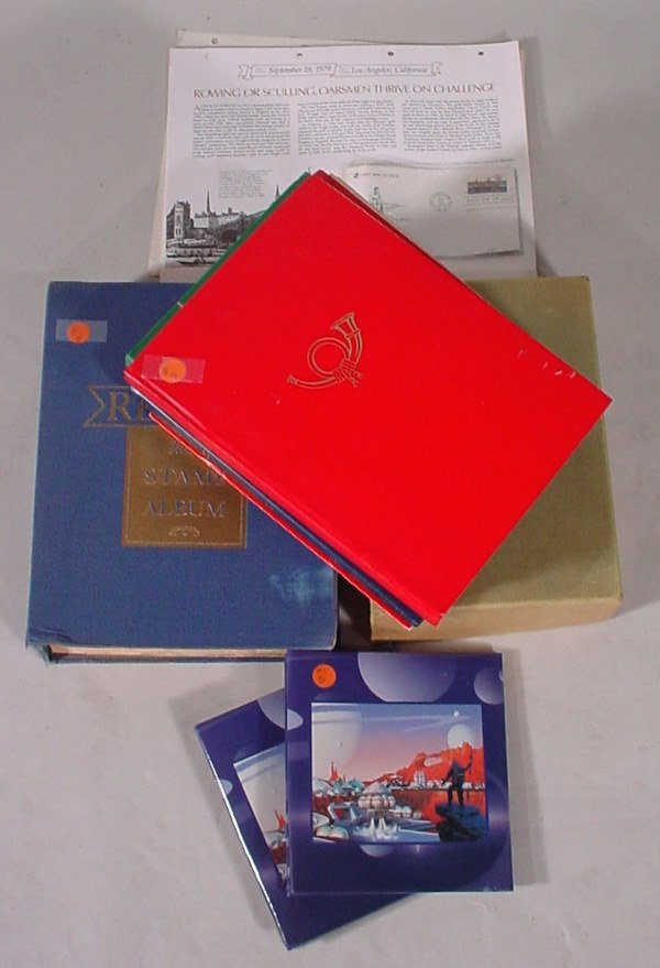 2001: Regent World Wide Stamp Album plus Year of Stamps