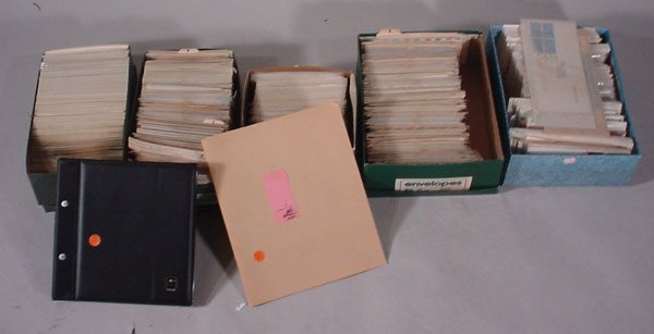2012: Large lot of US FDCs regular issues, airmails, sp