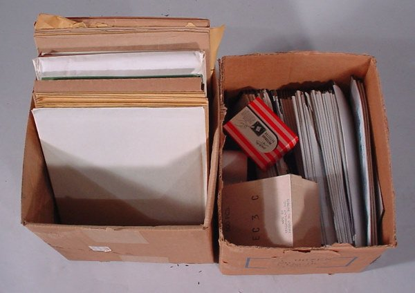2013: Two boxes of supplies and some postage.
