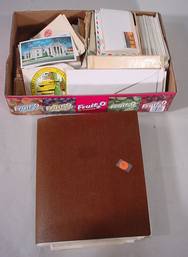 2015: Large box of US and Foreign material - old letter