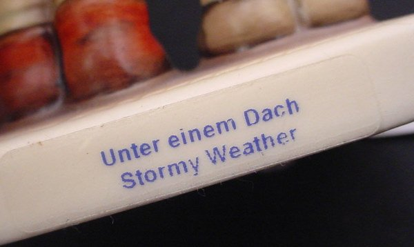 "3809: ""Hummel"" Figurine. ""Stormy Weather"" 4 1/2""h x 2 3 - 2"