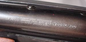 3202B: Savage Model 30D, 12 gauge pump action shotgun w - 2