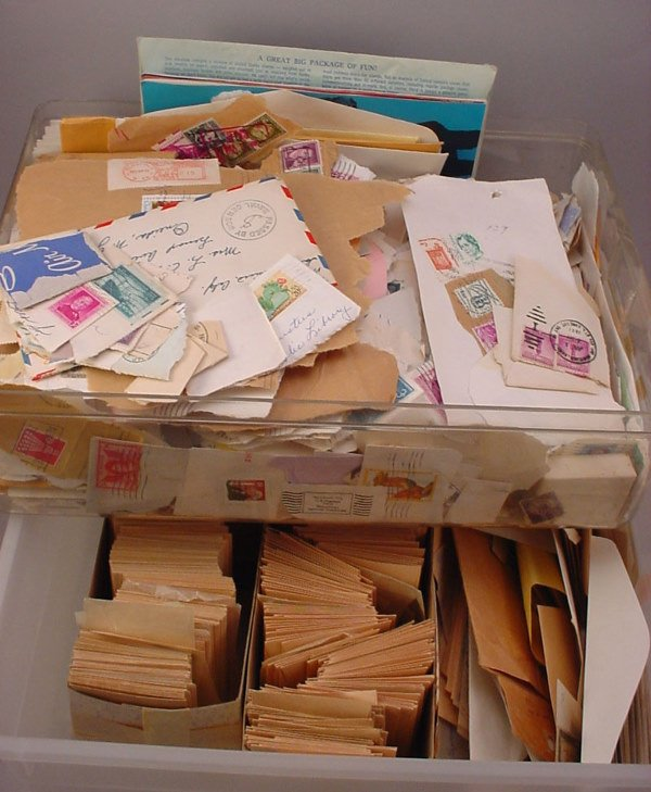 6: Large lot of Cancelled U.S. stamps