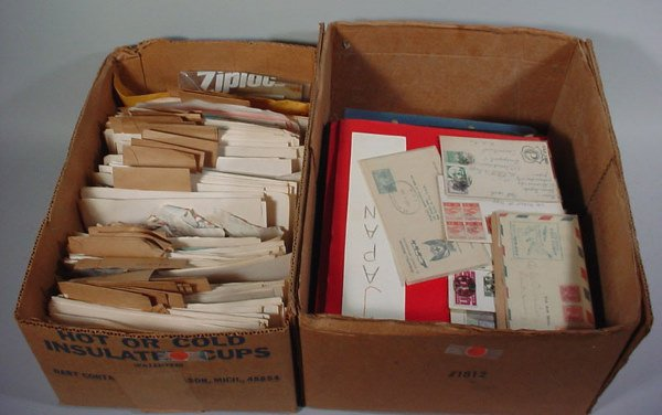 12: Large lot of Foreign Covers
