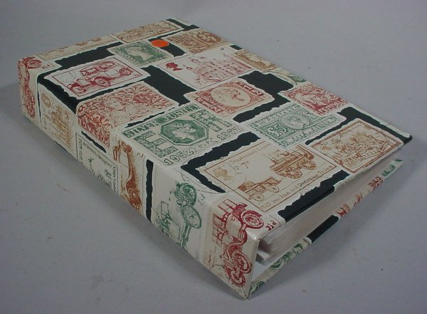 18: Postcard Album with 150 Colored Cards