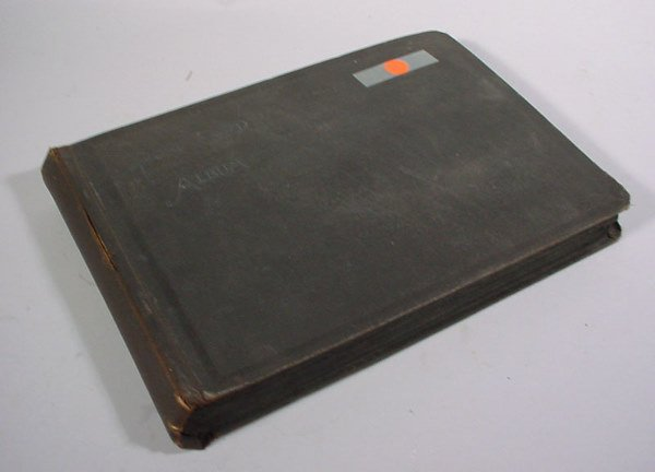 20: Postcard Album with close to 200 cards.