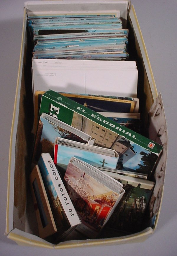 24: Postcard Collection includes over 200 loose cards