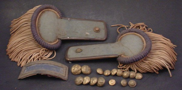 1041: Civil War Uniform Decoration Lot. Includes approx