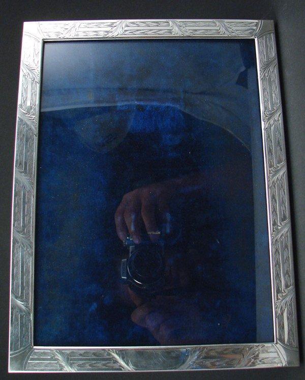 2009: Sterling Frame with acanthus leaf decoration. 11