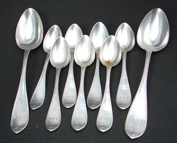 2024: Nine Spoons. Two Serving and Seven Teaspoons. Sig