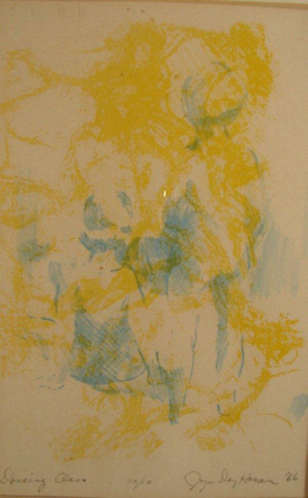 1: Original print. Signed in pencil Joyce Day Homan. Ti