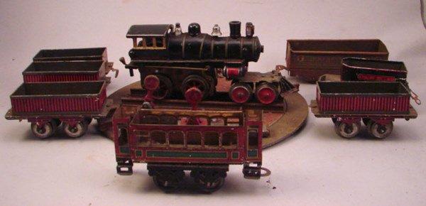 215: Model Train Set incl trains, track etc.