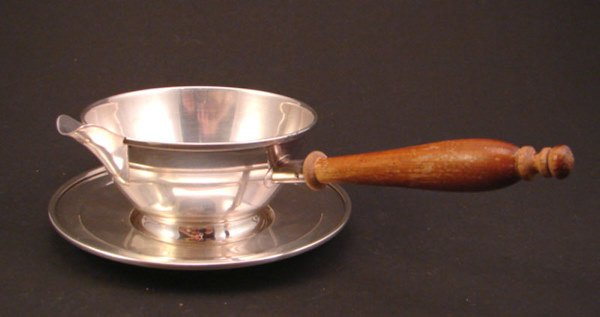 1021: Frank M. Whiting Sterling Sauce Ladle with under