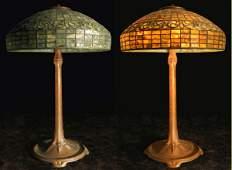 1185: Original Tiffany Studios Leaded Glass Art & Craft