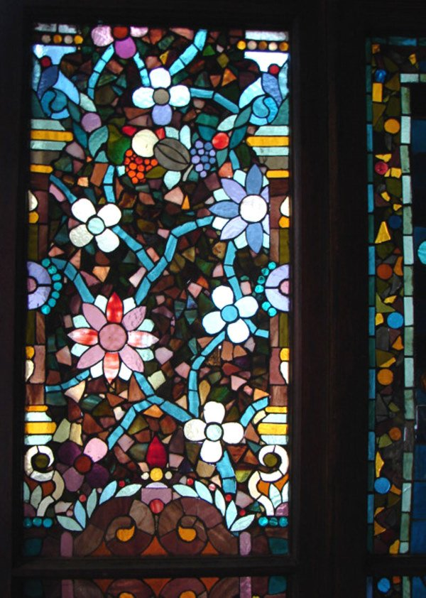 1200: Belcher Mosaic Stained Glass Window. American Aes - 4