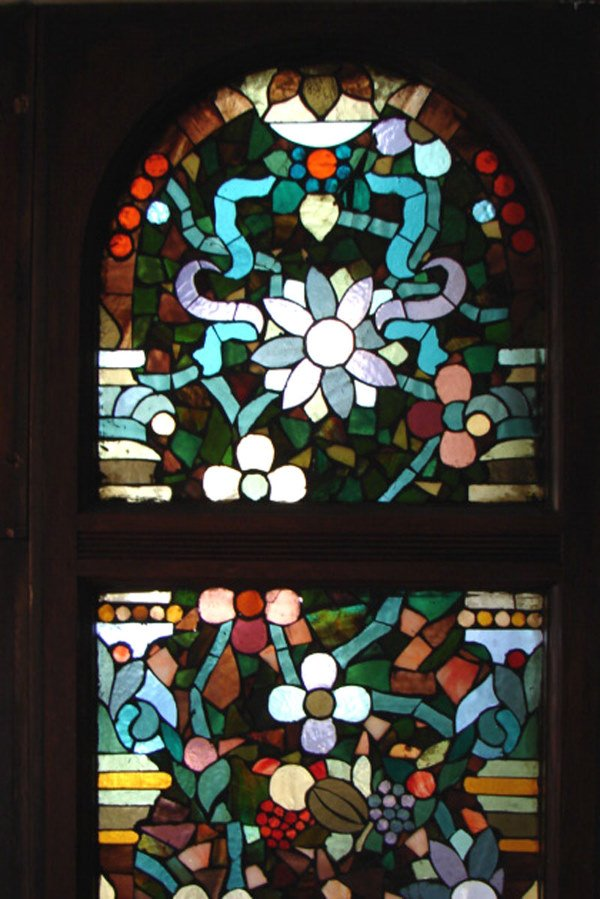 1200: Belcher Mosaic Stained Glass Window. American Aes - 6