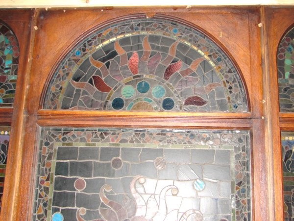 1200: Belcher Mosaic Stained Glass Window. American Aes - 7