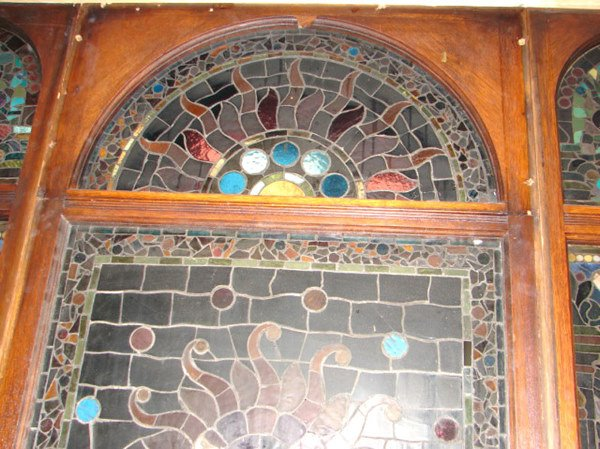 1200: Belcher Mosaic Stained Glass Window. American Aes - 8