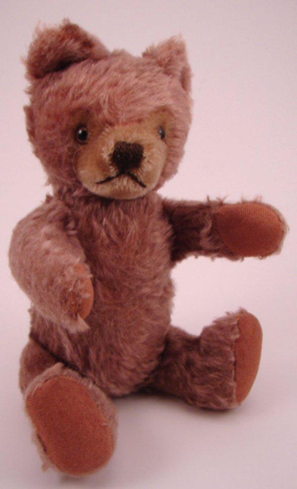 """81: Steiff Teddy Bear with ear Button. 9 1/2""""h."""