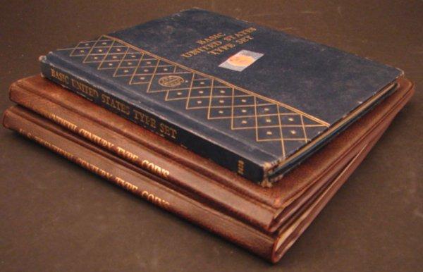 1369: Three U.S. type set books. (partial)