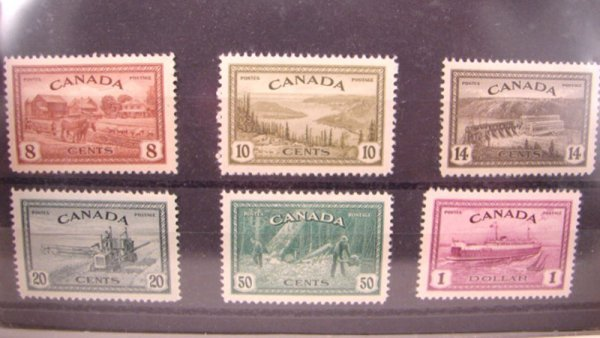 1006: Lot of Very Nice MNH Canadian Stamps.