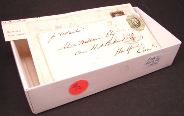 1012: Nine Early Great Britain letters including #1 and
