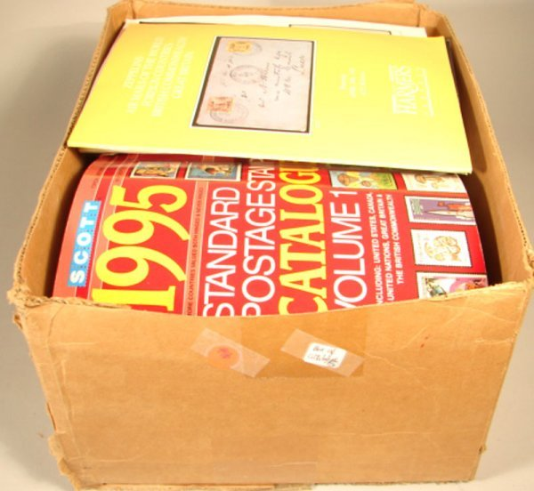 1016: Box of 46 Catalogues.