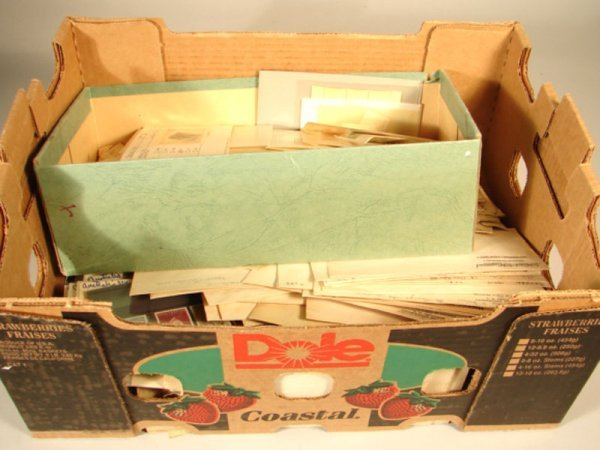 1018: Box of Foreign Stamps and Covers.