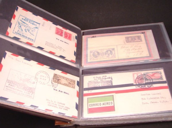 1021: Book with U.S. and Foreign Covers. Approximately