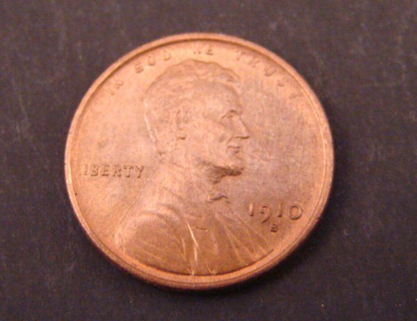 2219: 1910s Lincoln Cent. BU