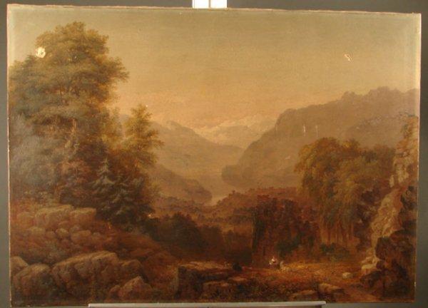 3180: Samuel Lancaster Gerry Hudson River School Painti