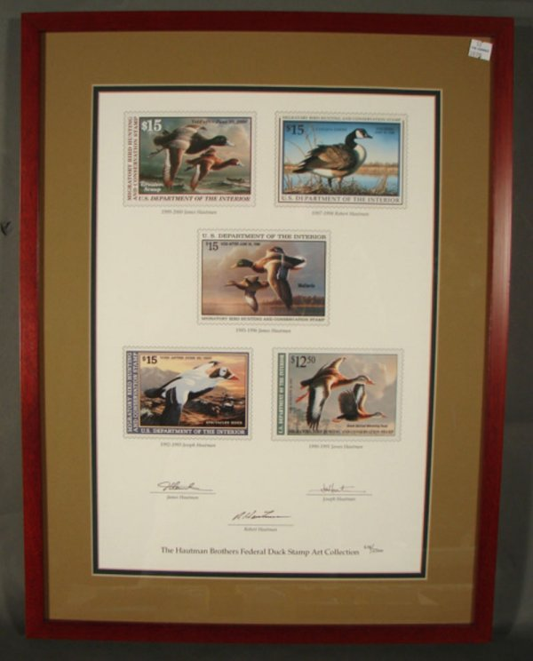 900: The Hautman Brothers Federal Duck Stamp Art Collec