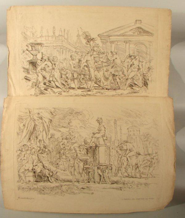 3001: Two Remond La fage Erotic Prints
