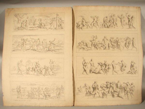 3002: Two Remond Lafage Erotic Prints