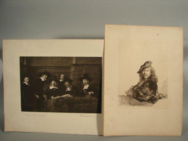 3004: Two Rembrandt Prints