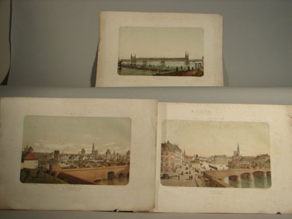 3012: Two French Color Lithograph Prints