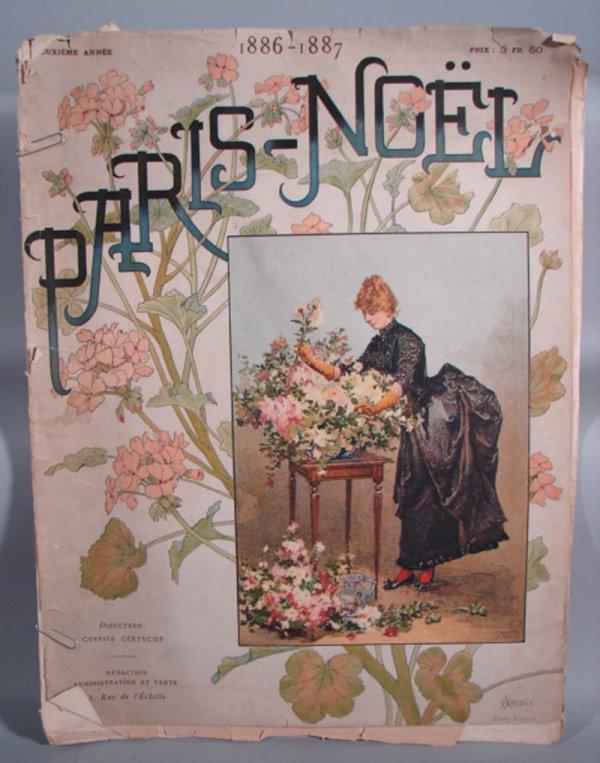 3015: 19th c Paris - Noel Illustrated Magazine