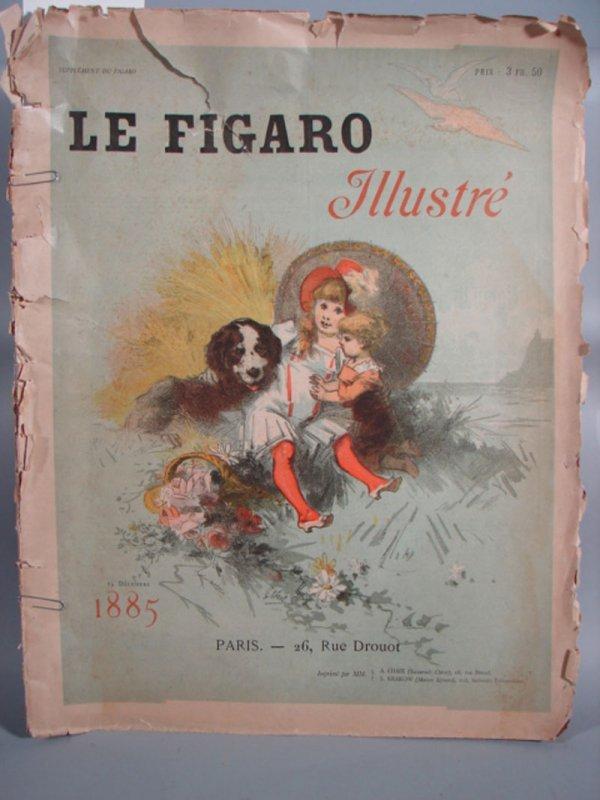 3016: 19th c Le Figaro Illustrated Magazine