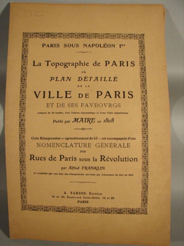 3018: Topography Maps of Paris